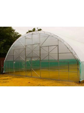 Дополнительная секция  10х2 фермерской теплицы с усиленным каскадом в Украине от производителя