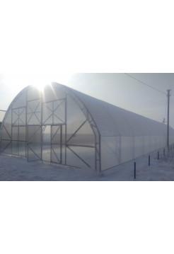 Фермерская теплица 10х80 У