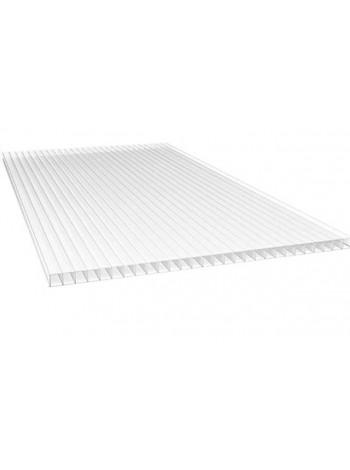 Сотовый поликарбонат Sunnex  4 мм, лист 6 м, прозрачный