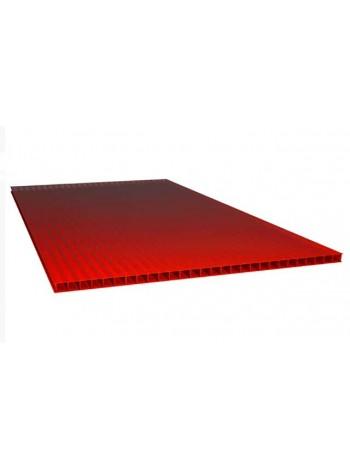 Сотовый поликарбонат Polynex 6 мм, лист 6 м, цветной
