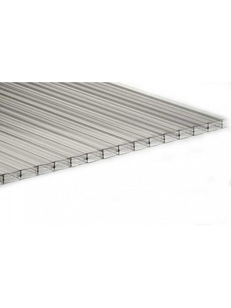 Polynex прозрачный, толщина 4 мм, лист 6 м