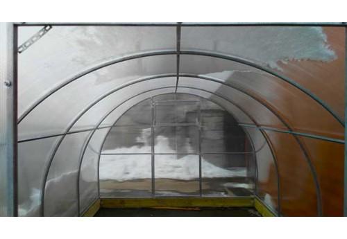 Надежное крепление поликарбоната к теплице