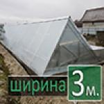 теплицы с односкатной крышей для дома и дачи