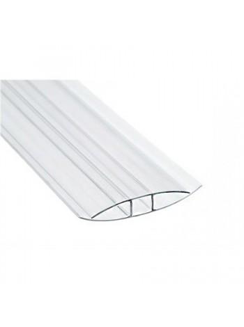 Соединительный профиль HP Sunnex, 6 мм, длина 6 м,   для сотового поликарбоната