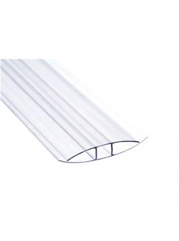 Соединительный профиль HP Sunnex, 10 мм, длина 6 м, для сотового поликарбоната