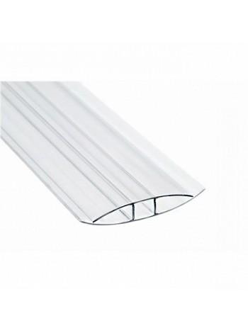 Соединительный профиль HP Sunnex, 4 мм, длина 6 м,   для сотового поликарбоната