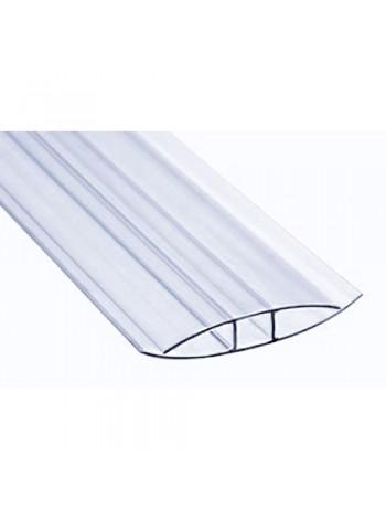 Соединительный профиль HP Sunnex, 8 мм, длина 6 м, для сотового поликарбоната