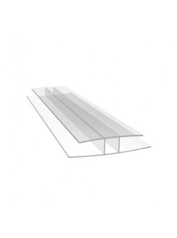 Соединительный профиль для сотового поликарбоната HP Royalplast 8 мм, длина листа 6 м