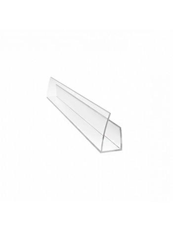 Соединительный профиль UP Sunnex, 10 мм, длина 2.1 м, для сотового поликарбоната