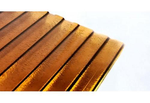 Качественный сотовый поликарбонат бронза