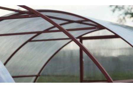 Монтаж крыши для парника из поликарбоната