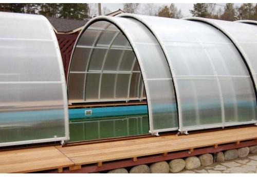 Правила ухода за поликарбонатом тепличных построек