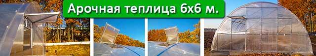 купить теплицу шириною 6 м в Киеве