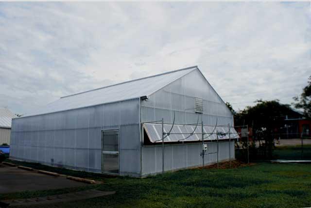 конструкция теплицы с двускатной крышей