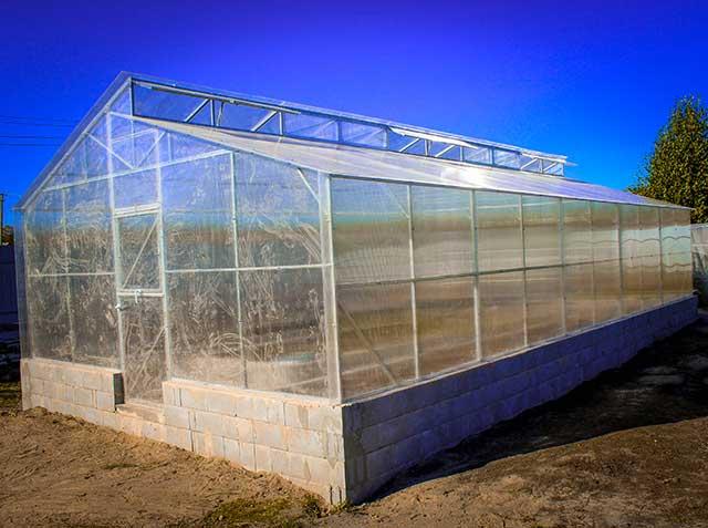 теплица митлайдер фото ширина 5 метров