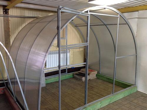 Проект теплицы из поликарбоната