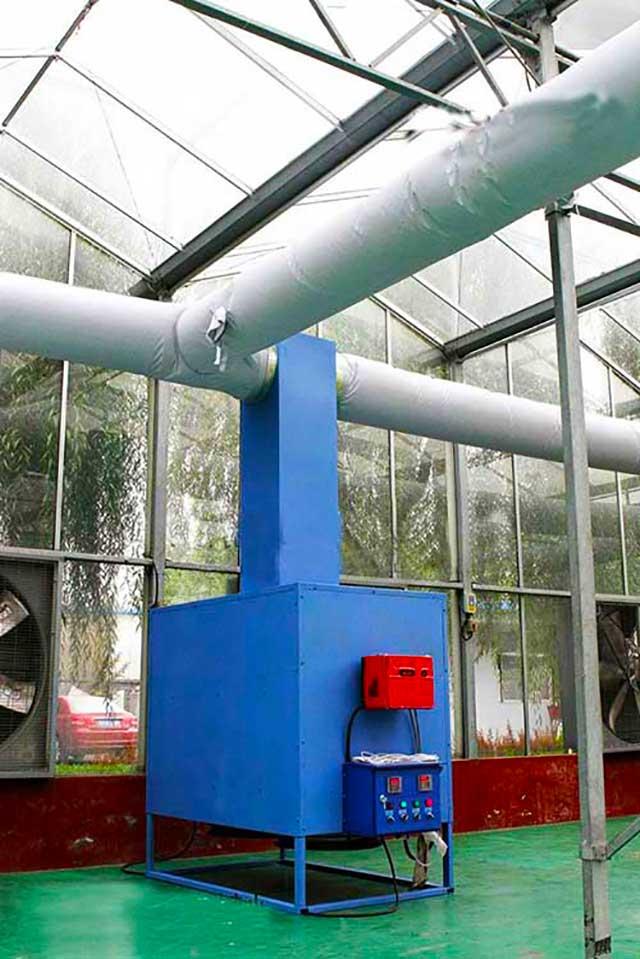 Отопление тепличных конструкций