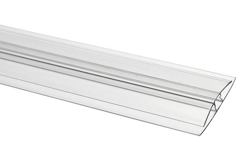 """Соединительный профиль HP Royalplast 8 мм для сотового поликарбоната - """"ТеплицаМаркет"""""""