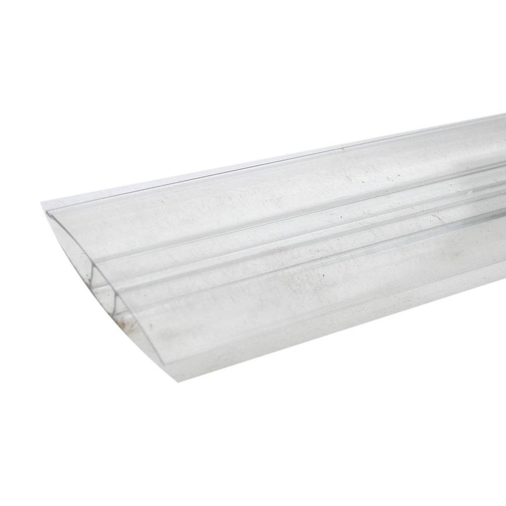 """Соединительный профиль HP Royalplast 4 мм для сотового поликарбоната - """"ТеплицаМаркет"""""""