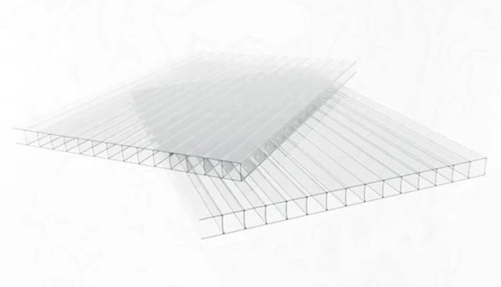 """сотовый поликарбонат Polynex прозрачный 10 мм - """"ТеплицаМаркет"""""""