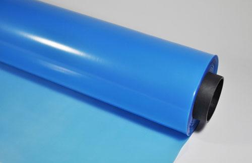 Многолетняя пленка для теплиц синего цвета
