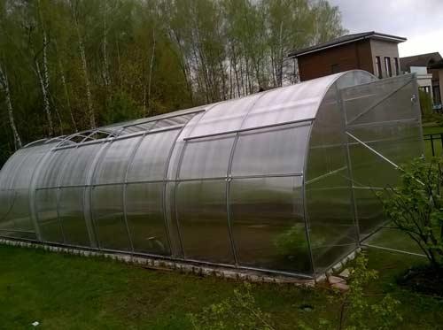 Основные преимущества теплиц с раздвижной крышей