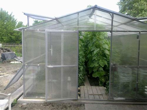 Ремонт сотового поликарбоната для теплиц