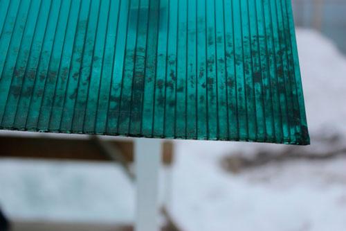 Самостоятельная резка сотового поликарбоната на дому